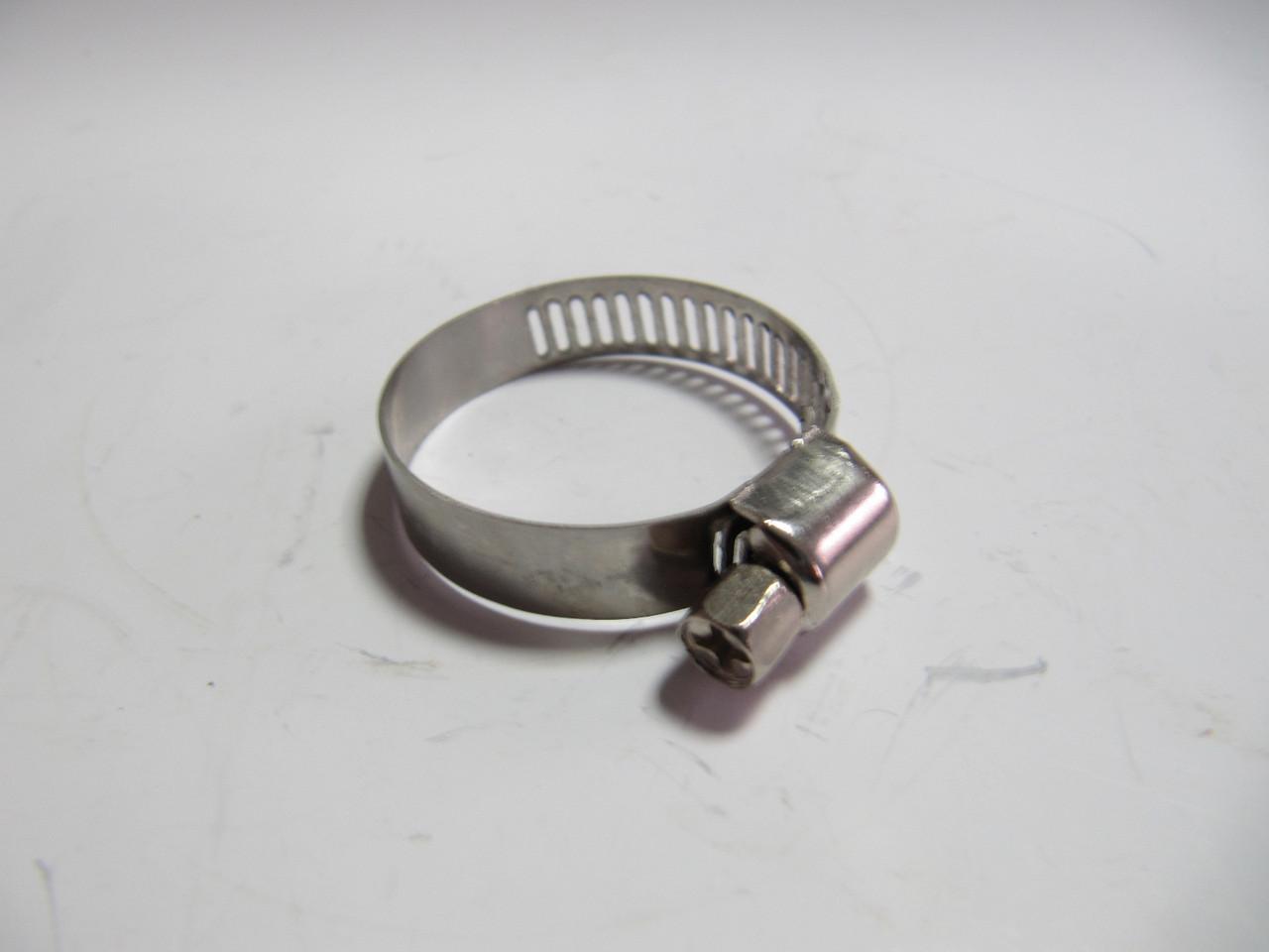 Zollex Хомут черв'ячний сталевий 22-32 мм AT з прорізом