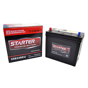 STARTER EX Акумулятор 45Ah Tk (+ /-) 450А JAPAN 55B24R
