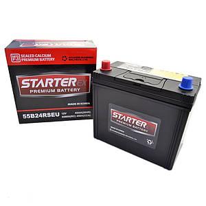 STARTER EX Акумулятор 45Ah (+ /-) 470А JAPAN 55B24RSEU
