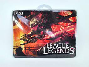 Коврик для мыши Podmyshku League of Legends для игровой мыши, ткань, размер S