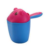 Ковш для купания, голубой Babyhood BH-713B