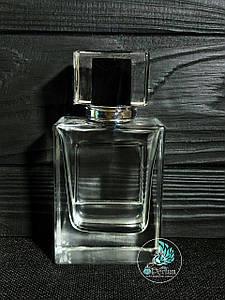 Парфюмерный флакон 50 мл комплект (спрей + серебряная крышка)