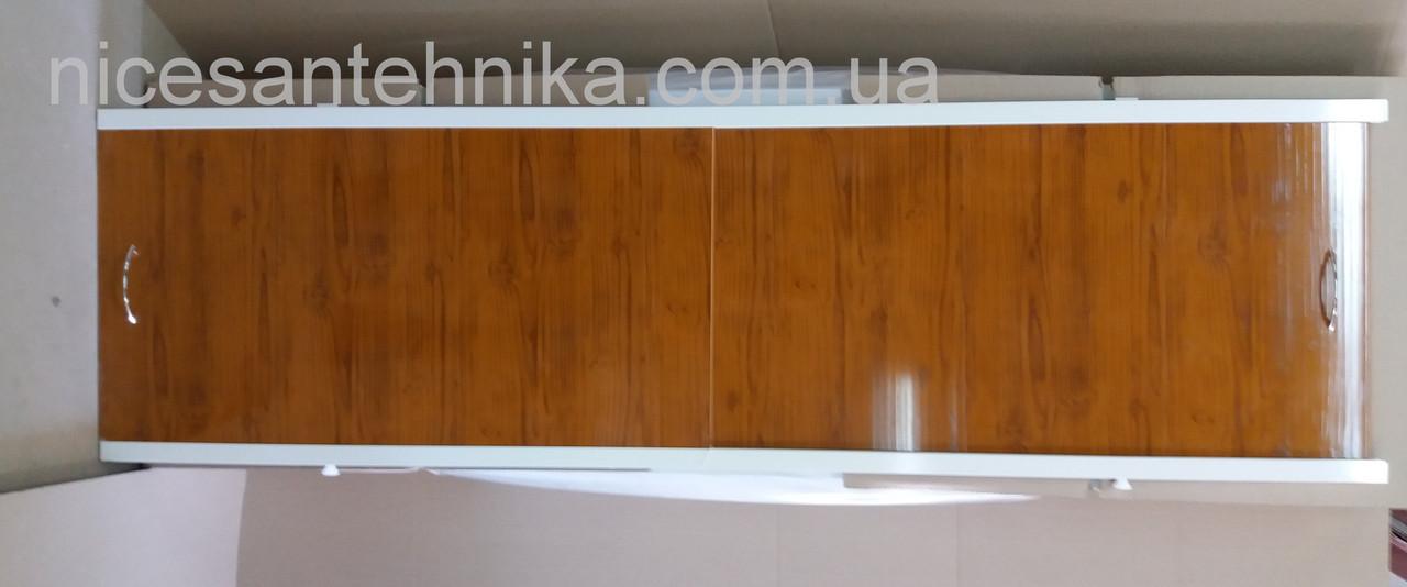 Экран для ванны алюминиевый 150*60 см. ЕВА-2( дуб)