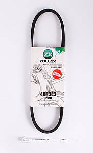 Zollex Ремень поликлиновой 48R343 4PK718 Logan без ГУР без АС