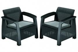 Кресло Bahamas Duo, графит