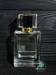 Парфюмерный флакон 50 мл комплект (спрей + золотая крышка)