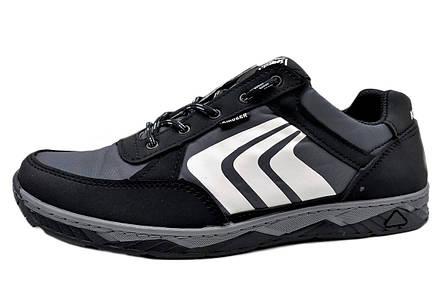 Кросівки чоловічі демісезонні, сірі, фото 2