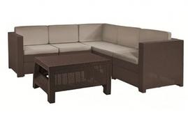 Комплект садовой мебели Provence Set, коричневый