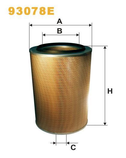 WIX 93078E Фильтр воздушный