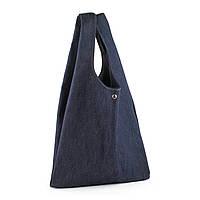 Джинсовая сумка-пакет
