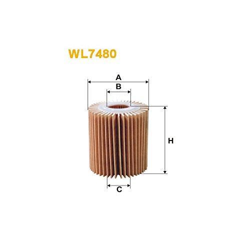 Фильтр масляный, WIX WL7480