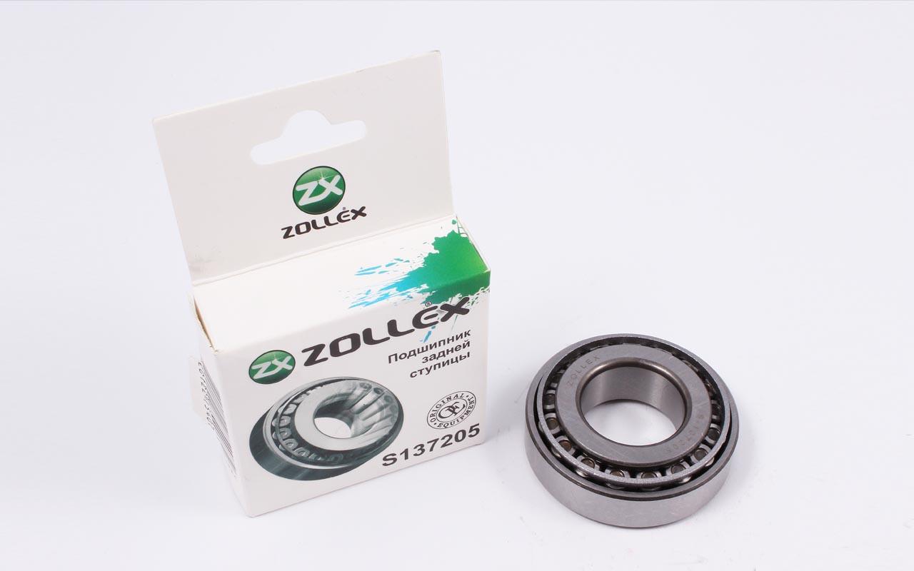 Zollex Підшипник маточини задній ЗАЗ 1102 S-137205 ДО