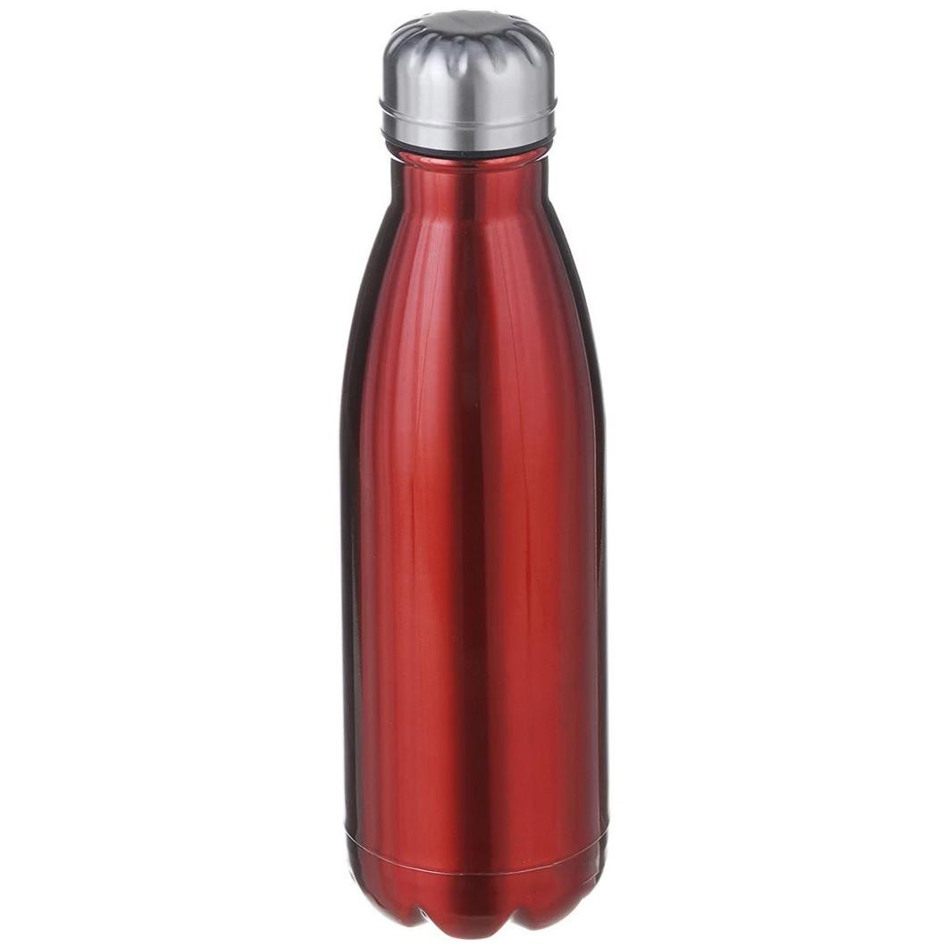 Термос пляшка питний A-PLUS 500 мл Червоний перламутр нержавіюча сталь