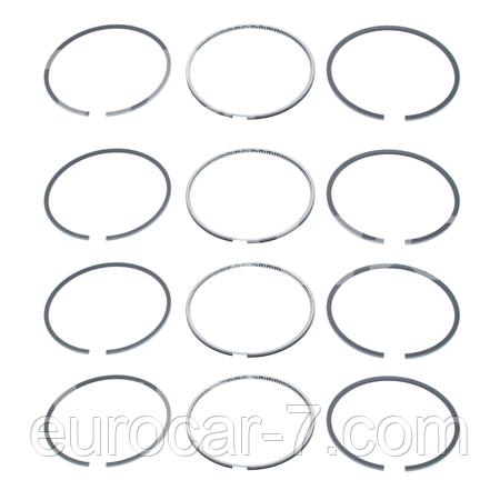 Поршневі кільця для двигуна Mitsubishi 4DQ5, 4DQ7, 4G63, 4G64, 6D16, 4D56, 4D56T