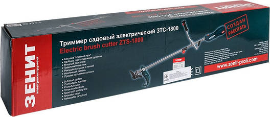 Тример електричний Зеніт Зтс-1800, фото 2