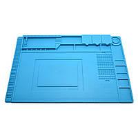 Коврик для пайки силиконовый термоковрик S-300(S-160) 450x300мм мат для разборки и пайки электроники