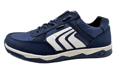 Кросівки чоловічі демісезонні, темно-сині (41,43,45 розмір), фото 2