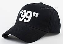 Черная коттоновая бейсболка тракер аппликация 99