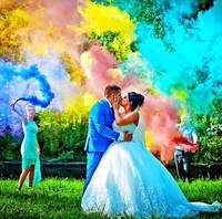 Оригинал! Jorge Набор Цветного Дыма - 5 разных цветов, кольоровий дим (Высокая насыщенность)