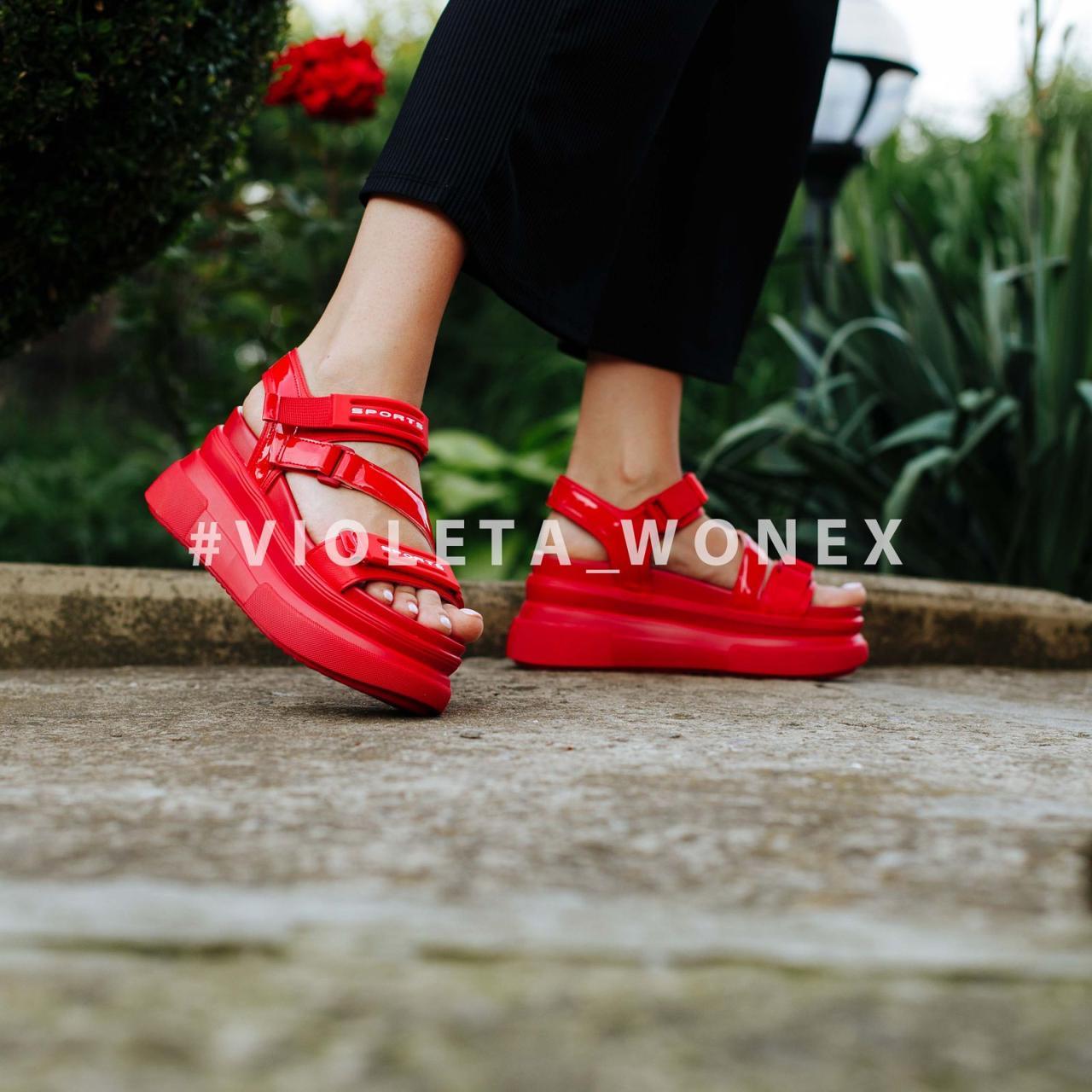 Босоножки Violeta 165-3 red