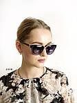Солнцезащитные очки Aras Polarized черные линзы с белыми дужками, фото 3