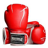 Боксерські рукавички PowerPlay 3018 Червоні 10 унцій, фото 1