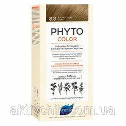 Крем-фарба для волосся PHYTO (Фіто) Фитоколор тон 8.3 світло-русявий золотистий
