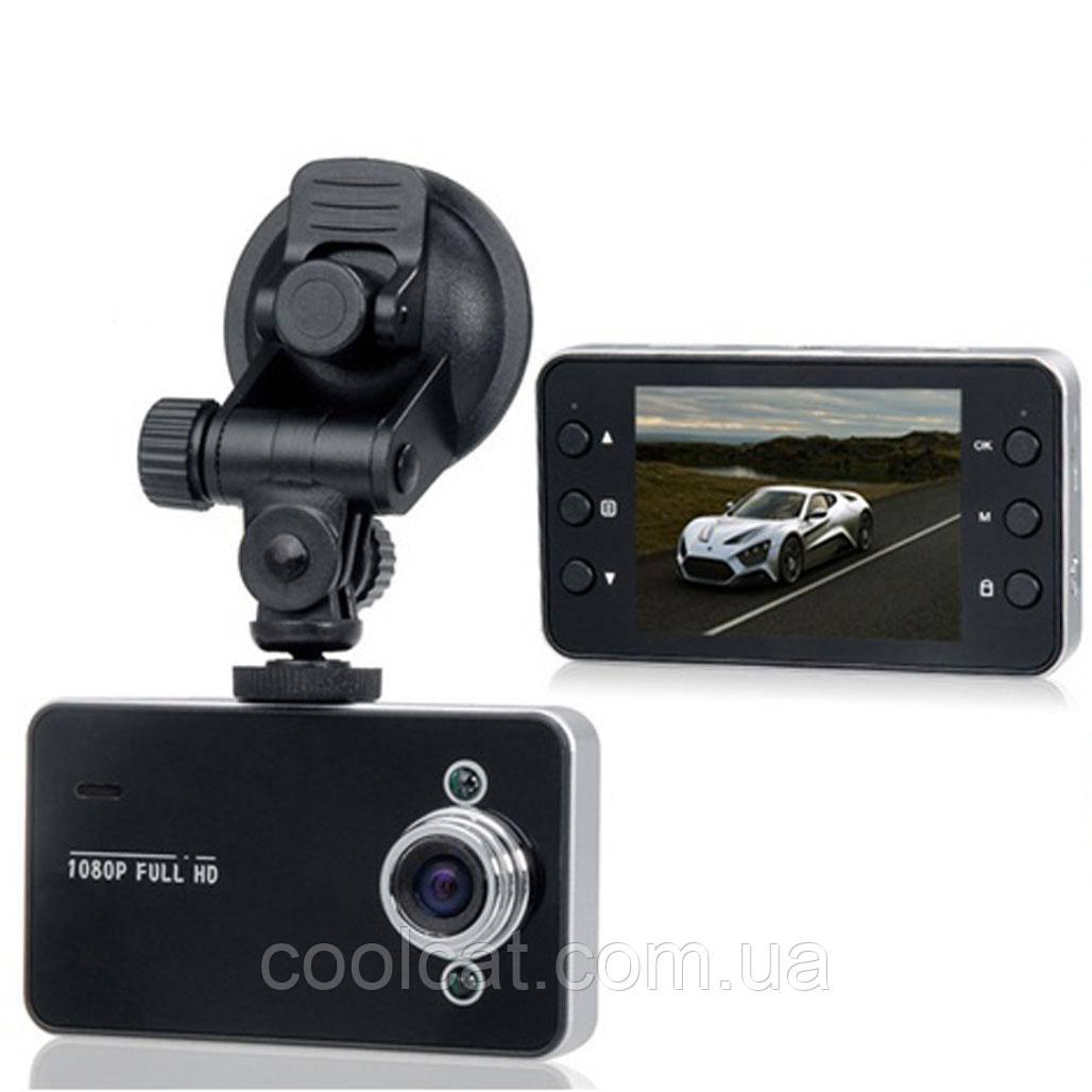Автомобильный видеорегистратор DVR X-3 K6000 HDMI Full HD (1080p)