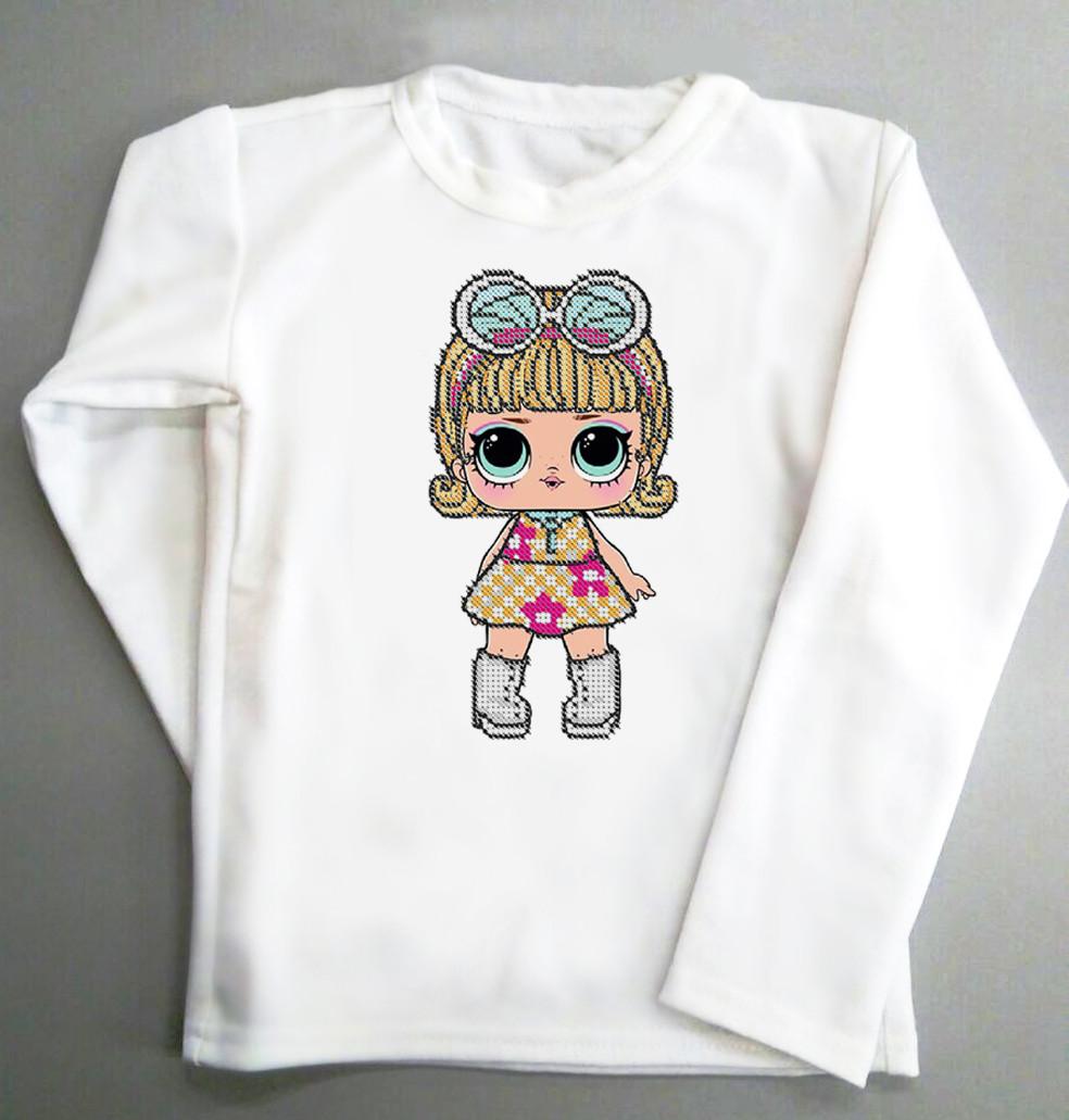 Реглан. Детская футболка с длинным рукавом. Размер 100см 104см 108см