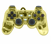 Джойстик проводной DJ-PS800 PS2  Прозрачный