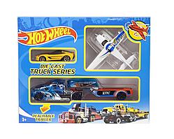 Машина Hot Wheel DIE CAST TRUCK желтое авто YG Toys T-R115-E1