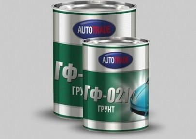 Автотрейд Грунт ГФ-21(сірий) 1л/0,9кг