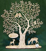 Лазерная резка фанеры, МДФ, дерева