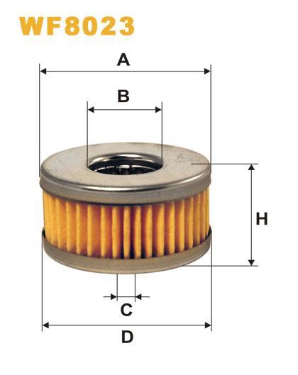 WIX WF8023 Фільтр паливний Filtron PM 999
