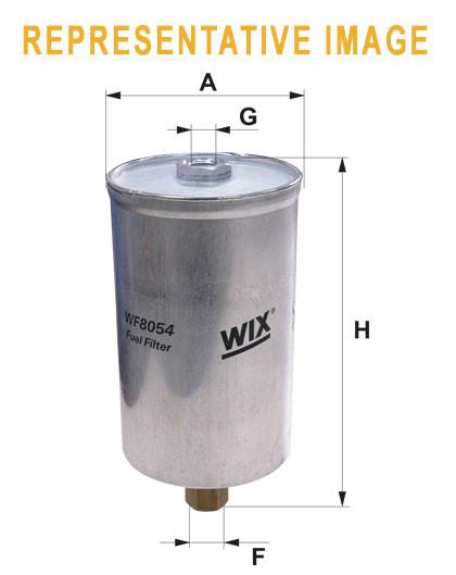 WIX WF8064 Фільтр паливний Filtron PP 859