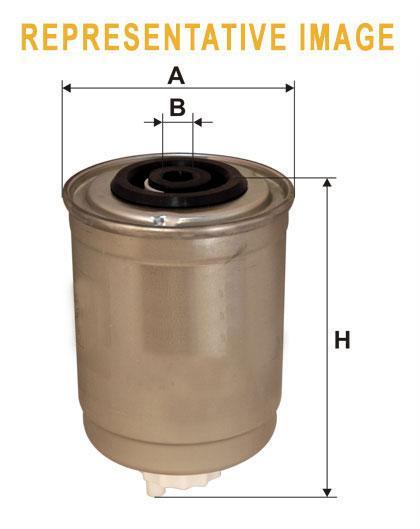 WIX WF8053 Фільтр паливний Filtron PP 848/1