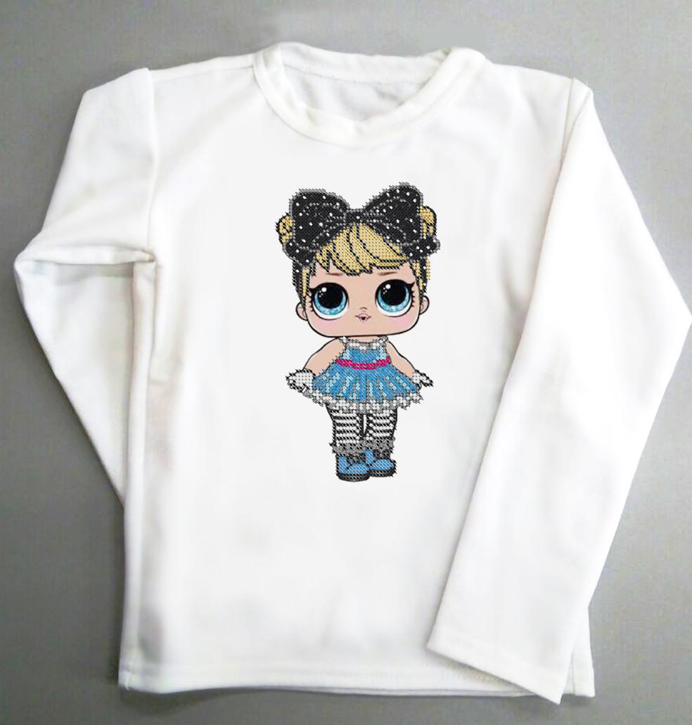 Реглан. Детская футболка с длинным рукавом