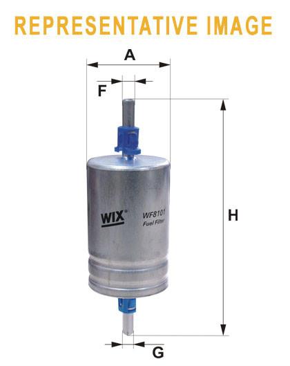 WIX WF8194 Фільтр паливний Filtron PP 865/2