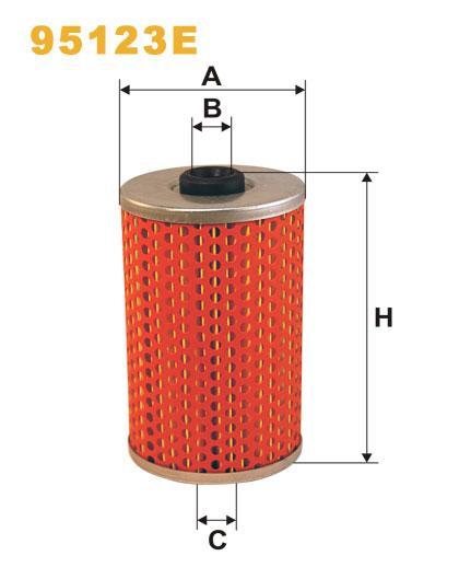 WIX 95123E Фільтр паливний Filtron PM 805 (Икарус)