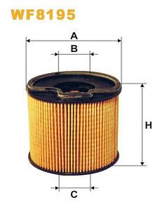 WIX WF8195 Фільтр паливний Filtron PE 816/3