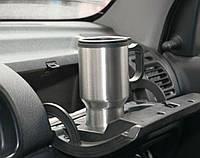 Автомобильная термокружка с подогревом electric mug 140z 400мл 12v чашка в машину