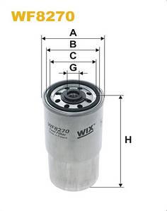 WIX WF8270 Фільтр паливний Filtron PP 940/2