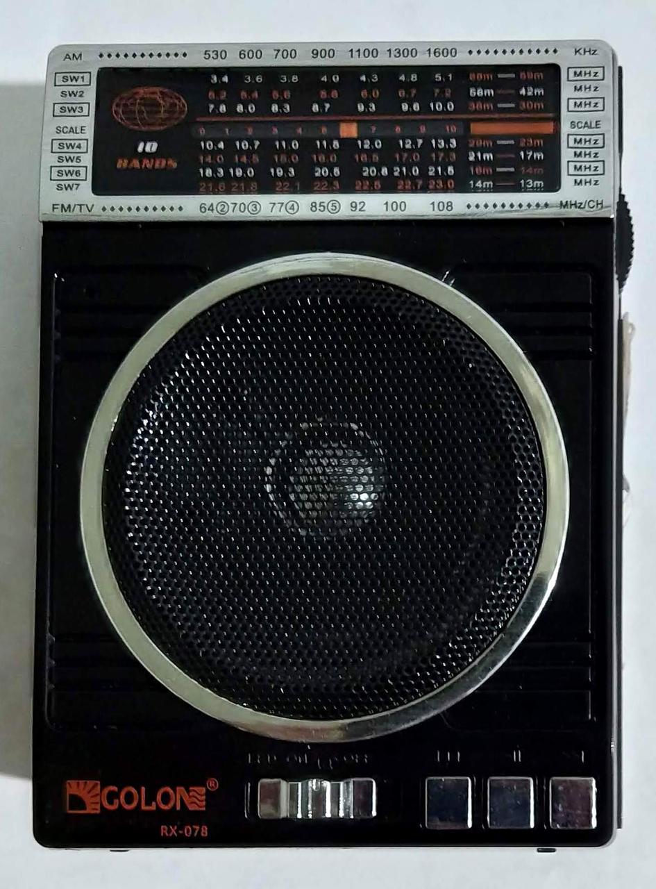 """Портативна колонка, радіоприймач """"RX-078"""""""