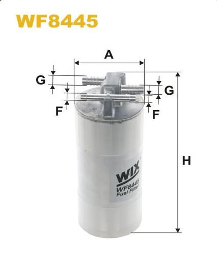 Розпродаж WIX WF8445 Фільтр паливний Filtron PP 991/2