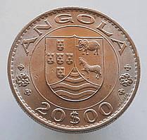 Португальская Ангола 20 эскудо 1971