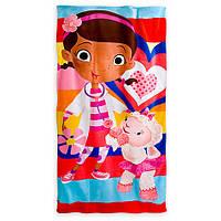 Детское махровое полотенце Disney оригинал Доктор Плюшево