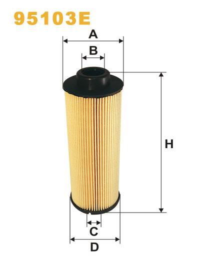 Розпродаж WIX 95103E Фільтр паливний Filtron PE 977/2