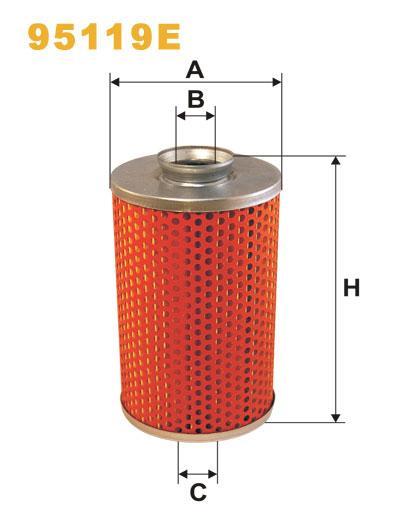 Розпродаж WIX 95119E Фільтр паливний Filtron PM 802