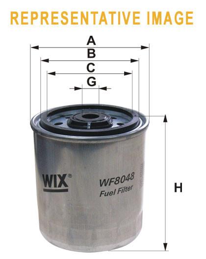 Розпродаж WIX 95114E Фільтр паливний Filtron PP 971/2