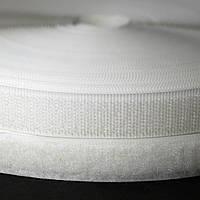 Лента-липучка белая 25 мм метр